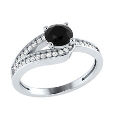 0.70 ct Natural Spinel & Certified Diamond Solid Gold Wedding Engagement Ring