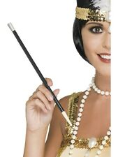 Fancy Dress Long Cigarette Holder Flapper 20's 30's Moll Costume Gangster Sexy