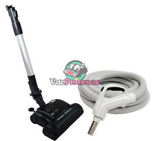 30' or 35' Deluxe Central Vacuum Kit w/Hose, Power Head & Wand For Eureka