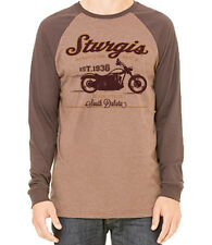 76TH - STURGIS MOTORCYCLE RALLY AND RACES VINTAGE RETRO LONG SLEEVE SHIRT - 2016