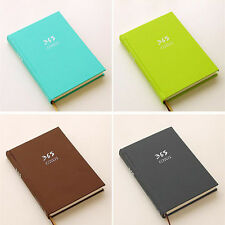 365 PlannerHard Cover Cute Diary Notebook Journal Agenda Scheduler Memo 4Color