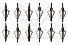 Newest Style  Outdoor Archery  Black 3 Blades Broadheads Arrow Heads For Bow