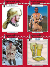 Patterns,Mens,Boys Clothing, Moccasin & Accessory Pattern,Hunting, Reenactment