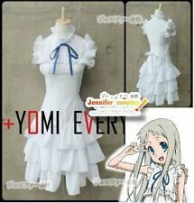 Anohana The Flower We Saw That Day Meiko Menma Honma Cosplay Costume
