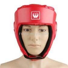 Thick Padded Boxing Helmet Martial Arts Gear MMA Protector Sparring Head gear