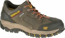 NEW Mens CAT FOOTWEAR Dark Gull Grey NAVIGATOR WP STEEL TOE Work Shoes P90616