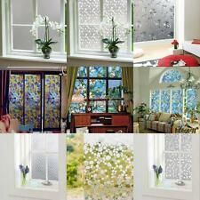 Various Prints STATIC CLING GLASS WINDOW FILM STICKER PRIVACY FROSTED WATERPROOF