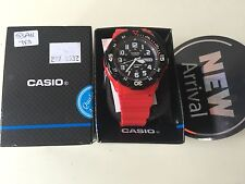 Casio MRW-200HC-4BVEF Classic Diver Style Analogue Red 100 m Watch