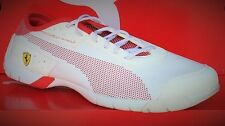 PUMA FERRARI FUTURE CAT SUPERLT SF SL-Mens Casual New Shoes-White/Red-3046687 03