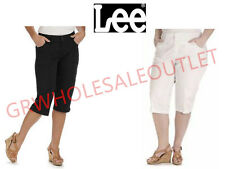 LEE Women's Relaxed Fit Skimmer Stretch Capri Pant! Free shipping! *WOT#982253