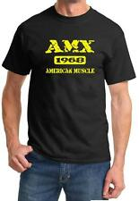 1968 AMC AMX American Muscle Car Color Design Tshirt NEW Free Ship