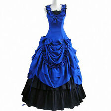 Victorian Southern Belle Reenactment Prom Ball Gown Costumes Party Fancy Dress