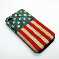 For Apple iPhone 4 / 4s Hybrid 2-in-1 Phone Cover Case United States US Flag