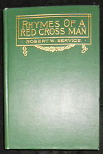 RHYMES OF A RED CROSS MAN by ROBERT W. SERVICE-BARSE & HOPKINS 1916- 1st Edition