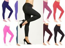 Cotton Leggings Full Length All Colors and Sizes -Ctn