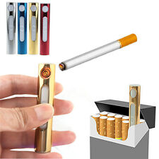 New Amazing Mini Slim USB Electronic Rechargeable Flameless Cigarette Lighter