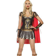 Ladies Greek Xena Gladiator Warrior Princess Roman Spartan Costume Fancy Dress