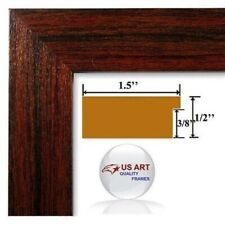 Arkansas Cherry Maroon  Picture Poster Photo FRAME  Wood Composite 20 in WIDE