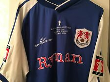 Millwall Home Shirt - FA Cup Final 2004 - Millwall v Manchester Utd - RARE