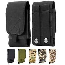 Army Tactical Bag Mobile Phone Belt Pouch Cover Case For iPhone 5 5S SE 6 Plus