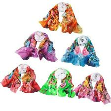 Fashion Women Ladies Chiffon Shawl Wrap Stole Scarves Scarf Pashmina Soft R7M8