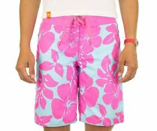 Roxy Surfer Soul Swimsuit Girl 12-14-16 pink boardshort BNWT