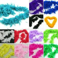 Night Burlesque Fancy Dress Skirt Party Wedding Dressup Boas 2M Feather Boa Hen