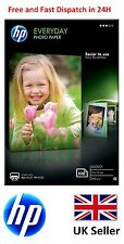 """HP 10 cm x 15 cm (6""""x4"""") EVERYDAY GLOSSY PHOTO PAPER 200GSM - CR757A - Cheapest"""
