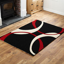 MODERN SMALL LARGE EXTRA X LARGE RUG 11-12 MM THICK CURLY PATTERN RUGS RUNNERS