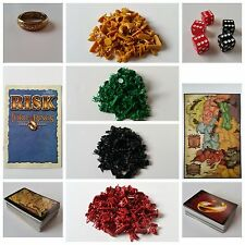 RISK Lord of the Rings Trilogy Edition Replacement Pieces Parts Game