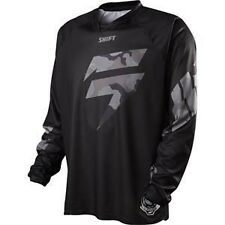 MENS GUYS ADULT MX SHIFT RACING ATV RIDING RECON LOGO BLACK CAMO JERSEY OFFROAD