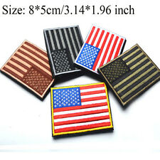 USA  AMERICA FLAG  PATCHES BACKPACK PATCH BADGE IRON ON EMBROIDERED