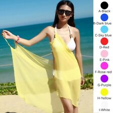 Women's Bikini Swimwear Cover Up SEXY Summer Beach Dress Sarong Sexy Wrap S-L
