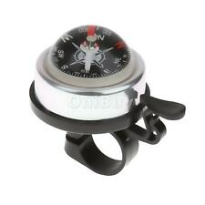 3 Colors Alloy Plasitc Bicycle Safety Hige Quality Bike Ring Alarm Bell Compass