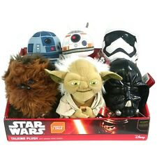 "Star Wars VII Classic 9"" Talking Plush Toy Assorted Kids Boy Girl Soft Gift"