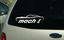 1969 Ford Mustang Mach 1 Muscle Car Vinyl Cut Sticker Decal NEW FREE SHIPPING