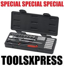 GearWrench 22 Piece 1/4-Inch Drive Metric Socket Set (Standard/Deep) 80327
