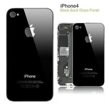 New iPhone 4 Back Panel Battery Door Panel Glass Protected