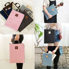 Useful A4 Tote Hand Bag Briefcase Document Holder Organizer File Laptop Notebook