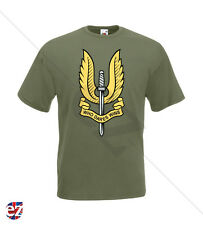MILITARY T-SHIRT - SAS Who Dares Wins