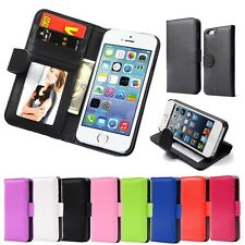 Hot Wallet Case For Apple iPhone 5 5S 5G/iPhone SE Magnetic Flip PU Leather Case