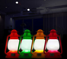 Gift Vintage lamp Night Light Night Xmas Lamp Decoration LED Color Changing
