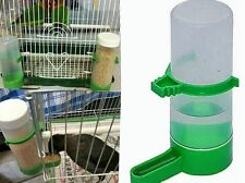 4pcs Bird Pet Drinker Food Feeder Waterer Clip for Aviary Cage Budgie Lovebirds