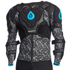 661 EVO PRESSURE SUIT BODY ARMOUR BLACK/CYAN 2016
