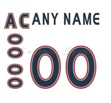 Hockey All Star 2000-01 North America White Jersey Customized Number Kit un-sewn