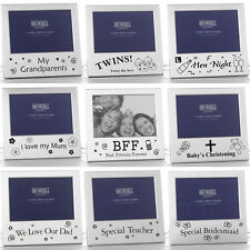 Photo Frames Occasion Sentiment Message Mom Dad Baby Anniversary