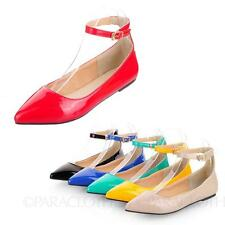 Pretty Womens Shoes Pointed Toe Summer Ballet Flats AU sz 2 3 4 5 6 7 8 9 10