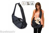 Pet Sling Pet Shoulder Bag Carrier Pet Tote Cat Dog Small Animal Pooch Pouch