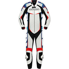 Spidi Men's Track Wind Pro Leather One-Piece Suit Motorcycle Riding Suits