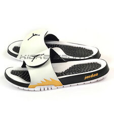 Nike Jordan Hydro 5 V Retro Slide White/Black-Metallic Gold Sandals 555501-153